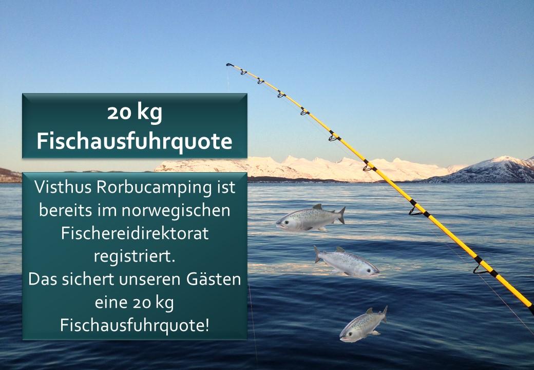 20 Kg Fischausfuhrquote