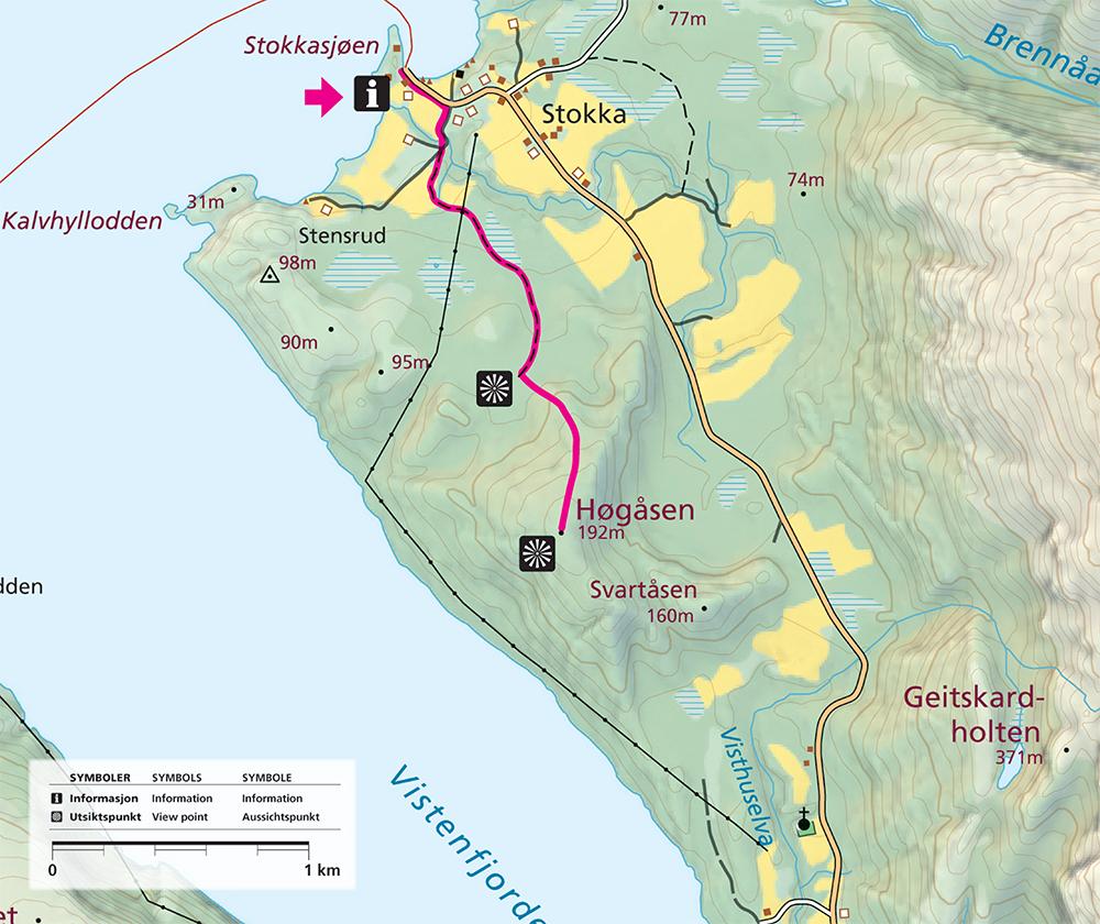 Hogaasen Map
