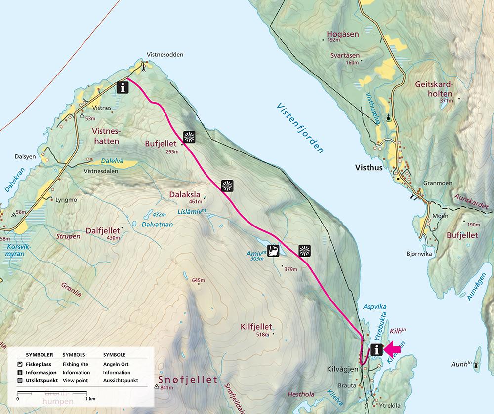 Kilavågen Map